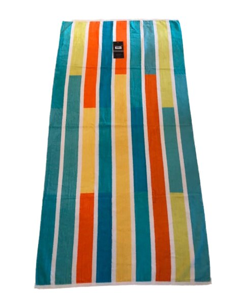 100% Cotton Beach Towel by Homvare